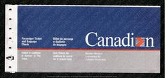 Pacific Airlines, Canadian Airlines, International Air Ticket, International Airlines, Western Canada, Air Tickets, Cabin Design, Visual Identity, Vintage Posters