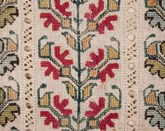 Greek embroidery 79 x 48 cm /  31.1'' x 18.8''