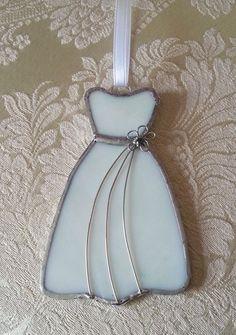 Stained Glass Wedding Dress