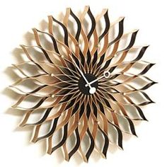 Sunflower Wall Clock | George Nelson for Vitra | Mid Century Modern