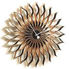 Vitra George Nelson Sunflower Clock: Love it, want it, need it.