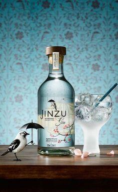 Jinzu Gin Packaging