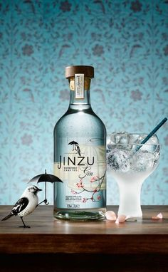 Jinzu Gin Packaging