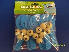 Uglydoll Ugly Dolls Cartoon Kids Birthday Party Supplies Favor Paddle Ball Games