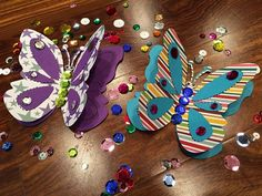 Fluttering Butterfly Fun Craft - Easy and fun to make with Ellison dies!