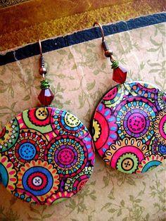cRazY Resin, Christmas Ornaments, Holiday Decor, Earrings, Ear Rings, Stud Earrings, Christmas Jewelry, Ear Piercings, Ear Jewelry