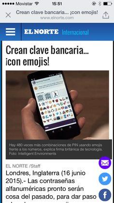 """Algunos bancos londinenses empiezan a optar por un novedoso sistema de password basado en emojis, afirmando que es más amigable, fácil de memorizar y menos """"hackeable"""""""