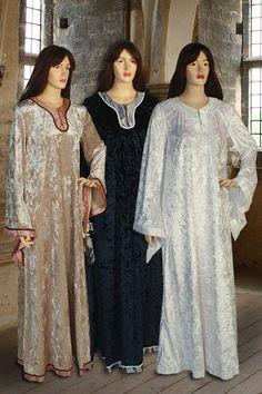 Women's Medieval Dress No. 105 - 99.50USD - Medieval and Renaissance Clothing, Handmade by Your Dressmaker