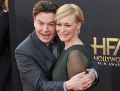 Mike Myers picked a retro name for his daughter!