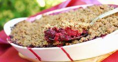 15 recettes minceur au quinoa Crumble de fruits rouges light en croûte de quinoa