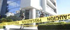 Un contingente militar fuertemente armado custodió el allanamiento ejecutado por la Procuraduría General de la República a las oficinas de Odrebrecht en República Dominicana. Foto: telenoticias.com