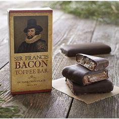 Sir Francis Bacon Dark Chocolate Toffee Bar I Crate and Barrel