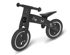 Pirate Balance Bike - available direct from KidsPlayKit with Free Next Day Delivery! Come take a look at our wide range of UK made wooden toys!