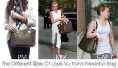 3f153f21981 Louis Vuitton uses several acronyms and a number system to size many of  their bags. This guide will explain what BB, PM, MM, and GM stands for.