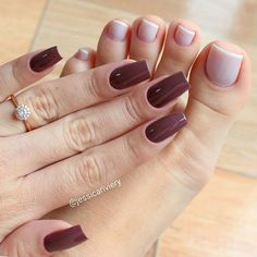 Image in nails 💅🏽👑 collection by Melanie Jimenez Hair And Nails, My Nails, Nails Only, Nail Candy, Feet Nails, Stylish Nails, Gorgeous Nails, Nail Arts, Manicure And Pedicure