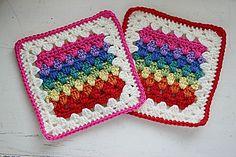 Ravelry: Granny Stripe Squared pattern by Susan Carlson