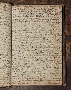 wasbella102:  Samuel Pepys' diary 1660