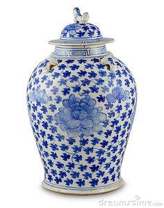 style & iconic <3 blue & white - Ginger jar