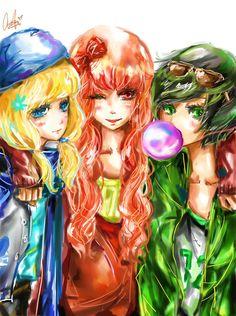 PowerPuff Girls Z, the anime adaptation. Powerpuff Girls, Super Nana, Ppg And Rrb, Anime Version, Old Shows, Fan Art, Animation, Disney Cartoons, Beautiful Artwork