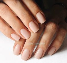 Nudes: all the most beautiful nail colors - nails - # nudes # Aktlacke: alle schönsten Nagelfarben – Nails – Nudes: all the most beautiful nail colors – nails – most # - Neutral Nails, Nude Nails, Acrylic Nails, Color For Nails, Nail Polish Colors, Hair And Nails, My Nails, Shellac Nails Fall, Manicure