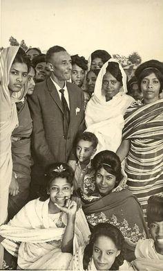 Abdulrahman Shadad with a group of students in Omdurman - 1967