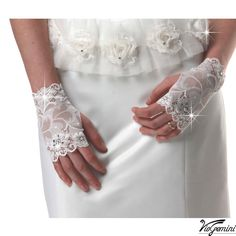 Bridal gloves, wedding gloves, stretch lace, flower lace fingerless ...1000 x 1000 | 131.8 KB | www.etsy.com