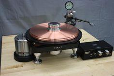 TTW GEM CU9999 Pure 42 LB Copper Platter - DC Servo Rim Drive DIGI-SERVO Controller - 10 INCH Avro Tone Arm   Turntables   AudiogoN - The High-end Audio Community