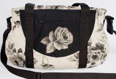 Umhängetaschen - Tasche Schnabelina Rosen - ein Designerstück von bluebirdys-nest bei DaWanda
