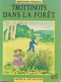 école : références: Trottinots dans la forêt