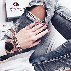 Hues of Pink Statement Bracelet - #fashion #bracelet #bestoftheday #photooftheday - 16,90 € @happinessboutique.com