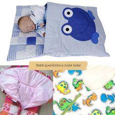 Pensando em deixar o bebê quentinho durante toda a noite, há muitas marcas criativas elaborando diferentes sacos de dormir para bebê! Vem conhecer modelos.