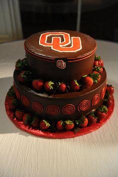 Oklahoma Sooners Cake