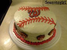 washington nationals cake Cakes Pinterest Cake Birthdays and