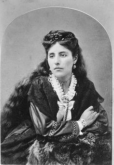 Rudecinda Sepulveda (1857-1929) by Floyd B. Bariscale, via Flickr