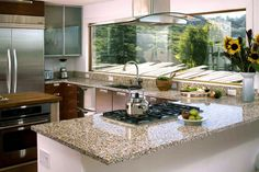 Vetrazzo Alehouse Amber Kitchen Counter