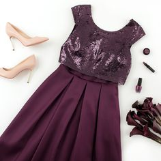 Save The Date Dress   Flatlay