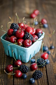 followthewestwind:  Fresh berries (365) (by The Little Squirrel)