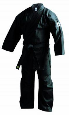 Adidas K220B Karate Uniform Black - Martial Arts Equipment, Martial Arts Supplies, Boxing, Kung Fu, Karate, MMA, Kickboxing