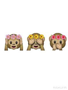 Emotikons monkey!! Love It!