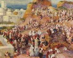 Festa araba (o La moschea)