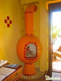 mexican decor - luxury hotel - roatan honduras by marinakvillatoro, via Flickr