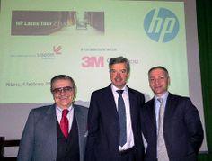 Edoardo Elmi (Guandong), Dario Morelli (HP), Fulvio Rohrer (3M) - HP Latex Tour 2014 - Milano 04.02