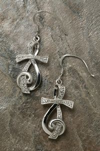 Brandi- I thougth of you when i seen these!! <3   Sing for Joy™ Earrings -   Sing for joy to the Lord, all the earth, praise Him with songs and shouts of joy! Psalm 984