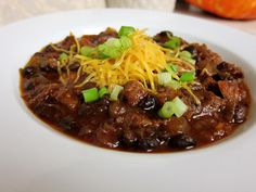 Perfect for Couch-gating in the Fall: Prime Rib Chili