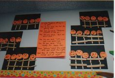 We do so many adorable Halloween crafts at our school I decided to put lots of them in one post. Let me know if you need mor...