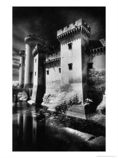 Tarascon Chateau, Provence, France by Simon Marsden Infrared Photography, White Photography, Culture Of France, Graphic Art Prints, Provence France, Photo Wall Art, Giclee Print, Fine Art, Naples