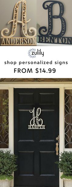 "Sign up to shop personalized family name signs from $14.99. Nothing says ""thoughtful"" like a gift that's made just for you. Discover the power of personalization with wood name signs, personalized stockings, home décor and everything in between."