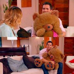 How cute! Papi German q hacess! Robot, Father Daughter, Season 3, Teen Wolf, All About Time, Music Videos, German, Teddy Bear, Queen