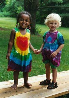 Wild Child Tie-Dye Creeper and Dress.