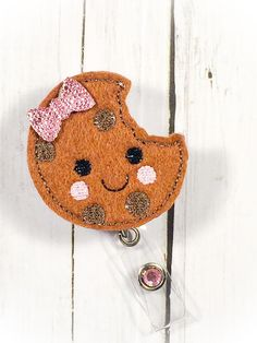 A personal favorite from my Etsy shop https://www.etsy.com/listing/222182598/cute-chocolate-chip-cookie-nurse-badge